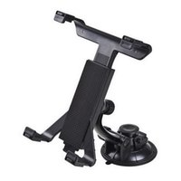 aluminium cup holder - Black Tablet PC Stand Car Suction Cup Stand Holder for iPAD inch