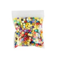 Wholesale per bag multicolor mm hama perler beads for kids DIY handmaking toy Intelligence Educational Toys fuse beads DIYFASHION