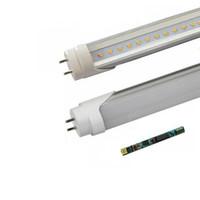 achat en gros de le ballast de la qualité-Haute qualité T8 Led Tube Lights 4ft 18W 22W ballast compatitive conduit tubes fluorescents ampoules chaud naturel frais blanc AC85-265V