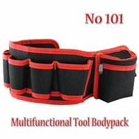 Wholesale Hardware Mechanic s Electrician Canvas Tool Bag Belt Utility Kit Pocket Pouch Organizer Multifunctional tool pockets NO