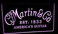 martin guitar - LS389 p Martin Guitars Acoustic Music LED Neon Light Sign
