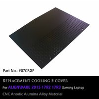 alumina stock - CNC alumina alloy replacement cooling pad E cover for ALIENWARE