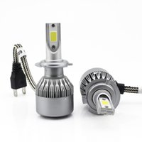automobile headlight bulbs - latest LED car headlamp bulbH4 H3 H1 H8 H9 H11 HB3 HB4 Automobiles Headlamps Super brightness W set led headlight h7 Fog Lamp bulb