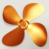 Wholesale Diameter mm Mini Coppry Blade Replacement extra Fan Blade to Fix Broken Heat Powered Stove Fan