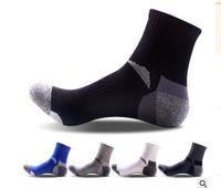 Wholesale The new Men s socks Outdoor mountaineering sports socks Cylinder in male basketball socks cotton socks