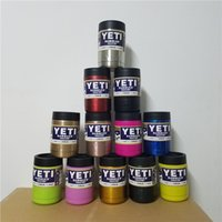 Wholesale Fashion oz Yeti Vacuum Insulated Rambler Colster By DHL Insulated Cup Mug Drink Holder Insulated Stainless Steel