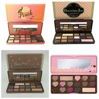 bar shadow - HOT Makeup Chocolate Bar Eyeshadow semi sweet Sweet Peach Bon Bons Palette Color Eye Shadow plates gift