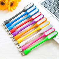 Wholesale Portable Mini USB LED MI Bendable Slim Lamp Light For PC Laptop Power Bank