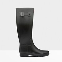 Wholesale 2017 Newests Ms matte Rain Boots Waterproof Women Wellies Boots Woman Rain boots Comfortable Rubber High rainboots Fashion Shoes Hot Sale