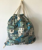 beautiful room colors - Good Quality Popular Girls Shoulders Drawstring Bags Beautiful Package Handmade Room Pattern American Style Mixed Colors Bag