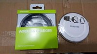Wholesale Samsung s6 wireless charger edge note3 note4 s5 wireless charging base qi wireless charging pad