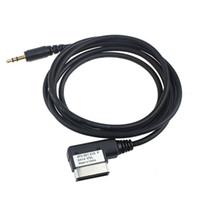 achat en gros de câble audio mmi-CAR AMI MMI 3.5mm AUX Câble audio MP3 pour VW Audi A4 / A6L / A8 / Q5 / Q7