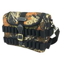 Wholesale Tourbon Tactical Bullet Case Gun Cartridges Shotgun Speed Bag Hunting Camouflage