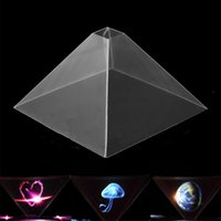 Wholesale Stand D Holographic Display Pyramid Projector for Smart Cell Phone