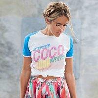 Wholesale 2017 Summer Spring COCO Cuba Paseo del Prado Fashion Show T shirt Women Girls Cotton Tshirt Short Sleeves O neck Feminino Tees