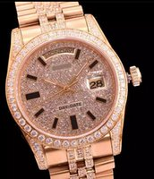 best swiss movement watches - 2016 LUXURY WATCH Gold diamonds Best Edition Swiss ETA2836 Swiss ETA Swiss ETA movement watches sea009