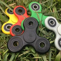 Wholesale Plastic EDC Spinner Funny Anti Stress Toys Fidget Spinner Desk Anti Stress Finger Spin Spinning Top EDC Sensory Toy Cube Gift