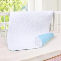 Wholesale Newborn Baby Bed Sheet Changing Pads For Newborn Crib Cot Boy Girl Blanket Waterproof Machine Washable