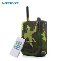 Wholesale bird Caller hunting Remote Control Hunting Decoy Speaker Record Remote Control M with Animal Voices TF card FM Radio