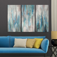 Wholesale KGTECH Artwork Panels Oil Painting Modern Abstract Canvas Art Decor Wall Art Handpainted Unstretcher x24H inch x3