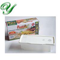 Wholesale Noodle Pasta Strainer Microwave Pasta Cooker Pasta maker plastic Spaghetti drains pot serving bowl storage container cooking gadget box pack