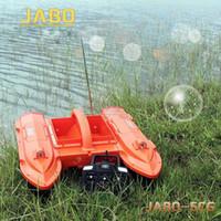 Wholesale JABO CG A Radio Control Fish Finder RC Carp Bait Boat Night Sonar Detection GPS RTR Water Temperature Detection