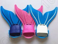 Wholesale Adjustable Mermaid Swim Fin Kids Monofin Flippers Swim Pool Flippers for Kids Reliable Training Monofin Swim Flippers CCA5584