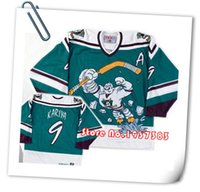 Wholesale 2016 New Design Style Anaheim Ducks Throwback Green Hockey Jerseys Accept Any Name and Number Custom Stitched Jerseys