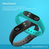 apple touchpad - Smart band Wristband heart rate bracelet smartwatch waterproof bluetooth fitness tracker oled touchpad similar xiaomi mi band miband
