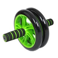 Wholesale New Noise Free Abdominal Wheel Ab Roller With Mat For Exercise Fitness Equipment Aparatos Para Hacer Ejercicio