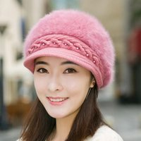 Wholesale Newest Korea Euro Women Berets Hats Amazing Autumn Winter Hat Outdoor Christmas Banquet Caps Girl Lady Warm Casual Cap