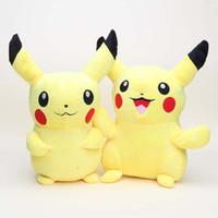 Wholesale Anime Cartoon pikachu Plush Toy Stuffed Animals Doll cm Poke Toy Dolls