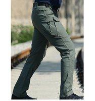 Wholesale Tactical cargo pants SWAT trousers combat multi pockets helikon pants trainning overalls men s cotton pants