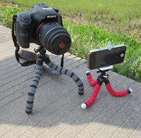 aluminum bubble - Flexible Tripod Mini CM Digital Camera Stand Flexible Leg Tripod Grip Octopus Bubble Pod Monopod Mobile Phone Holder Clip mm