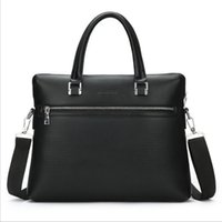 Wholesale Men Fashion Briefcase New Style Handbags High Quality PU Horizontal Version and Vertical Version Colors Designs