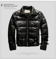 Wholesale Brand New Men s Harley Angel Full Leather Coat Motorcycle Slim fit Spain American Spirit M L XL XXL All Size