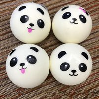 White big panda - 1 ws Pendant Lovely cm Squishies Panda Squeeze Bread Decompression Toy Pendants Slow Rising Squishy Sharms Factory Direct