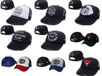 Wholesale Brand New Deus Ex Machina Baylands Trucker Snapback Men Women Bboy Girls Mesh Sports Hat Hiphop God Pray Ovo Cap Black