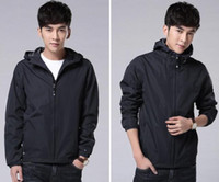 Wholesale Fall Brand New Training Military Men Outdoor Sports Bomber Jacket Hip Pop Plus Size Black Army Windbreaker Trench Coat