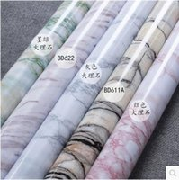 Wholesale Marble renovation waterproof adhesive stickers PVC wallpaper wallpaper wall stick ambry mesa table furniture