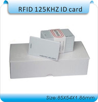 access id - box RFID card TK4100 KHZ RFID card EM Thick ID card suitable for access control and attendance cards