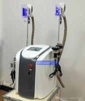 Wholesale 5 in multi functioni handles could work togeth zeltiq cryolipolysis fat freezing machine diode lipo laser cavitation rf slimming machine