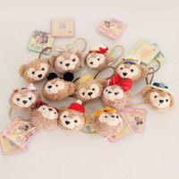 bear elastics - Duffy Bear Shelliemay Cute Hair Hoop Hair Accessories Rubber Band Stuffed Toys With Elastics Girl s Headwear x5cm