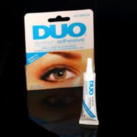 Wholesale DUO False Eyelash Glue Makeup Adhesive Easy Remover Anti Allergy Eye Lash Waterproof False Eyelashes Makeup Tool nj
