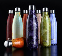 bicycle steel balls - DHL FREE colors Swell Bottle oz ml vacuum coke vacuum cup bowling ball swell bottle kettle with logo Christmas gifts