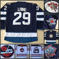 Wholesale Patrik Laine Jersey Cheap Hockey Jerseys Winnipeg Jets Patrik Laine Jersey Men High Quality Stiched