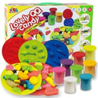 Wholesale Color Clay Dough set Funny Children Candy Sweets Free Tools and Accessories For Kid the best gift for children Large