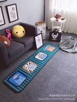Wholesale Decorative capet baby crowling carpet cute animal carpet long carpet Nordic style carpet collecting carpet birthday gift