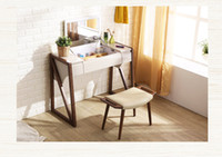 Wholesale The set s antique European mirror table dresser with dressing stool andgood weel be food looking abeautiful