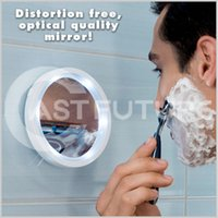 bathroom shaving lights - Makeup Mirror Shaving mirror glass Vacuum suction cup LED light make up magnifying glass amplification times bathroom mirror